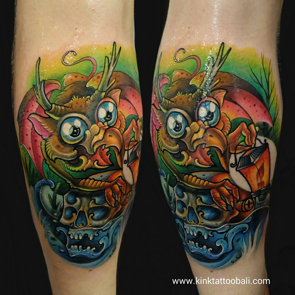 Tattoo Ideas Color 85: Kink Tattoo Bali