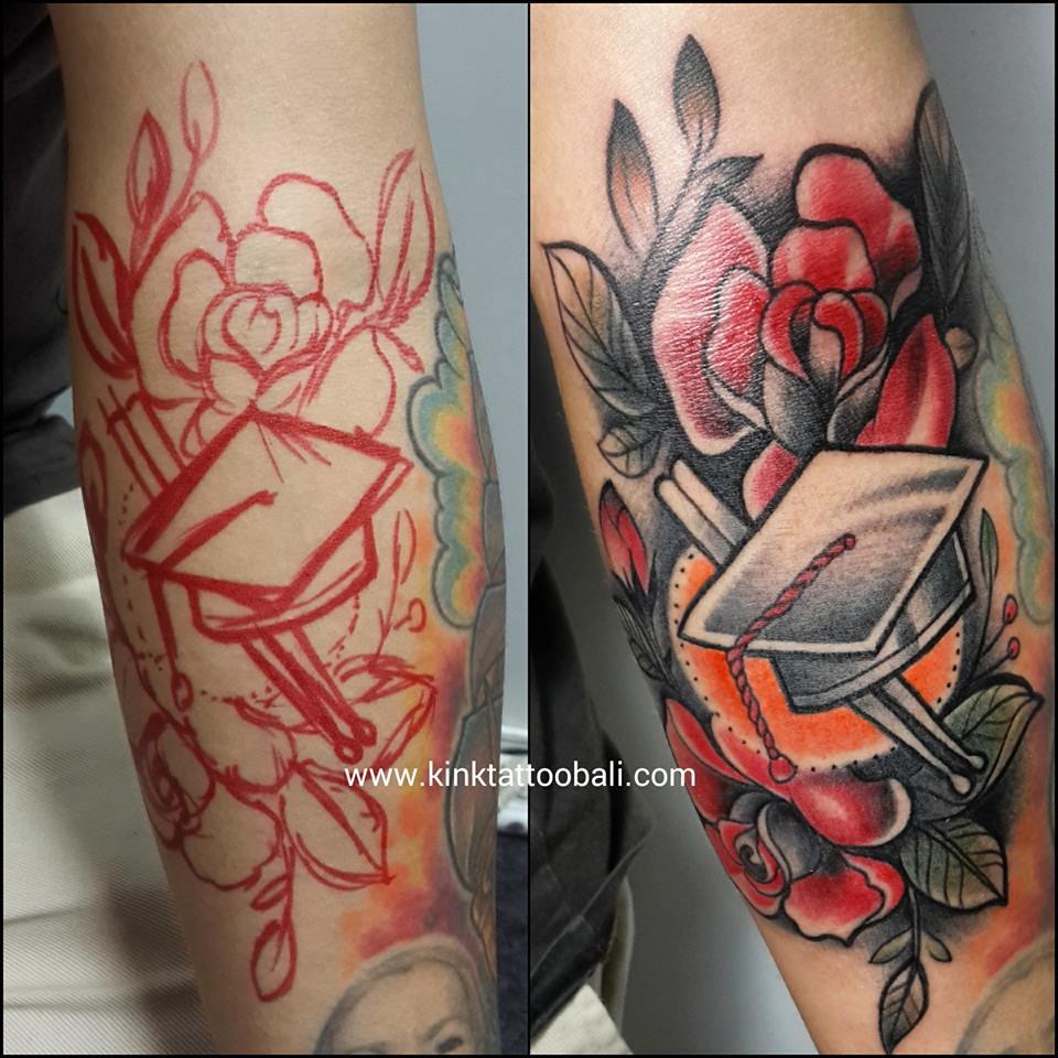 Color Tattoo - Kink Tattoo Bali